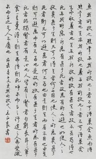 王正良硬笔书法作品 行书 毛笔书法作品字帖欣赏鉴赏三典