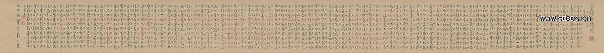 东晋 王羲之 草诀百韵歌 全卷23x266
