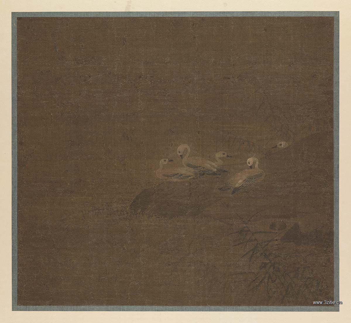 唐 张伯洪 罗汉图 24.5×20.3