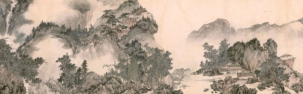 溥儒 山水卷(二)-94.5MB