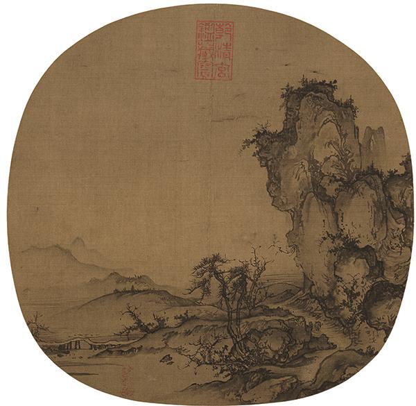 宋 郭熙 溪山行旅图