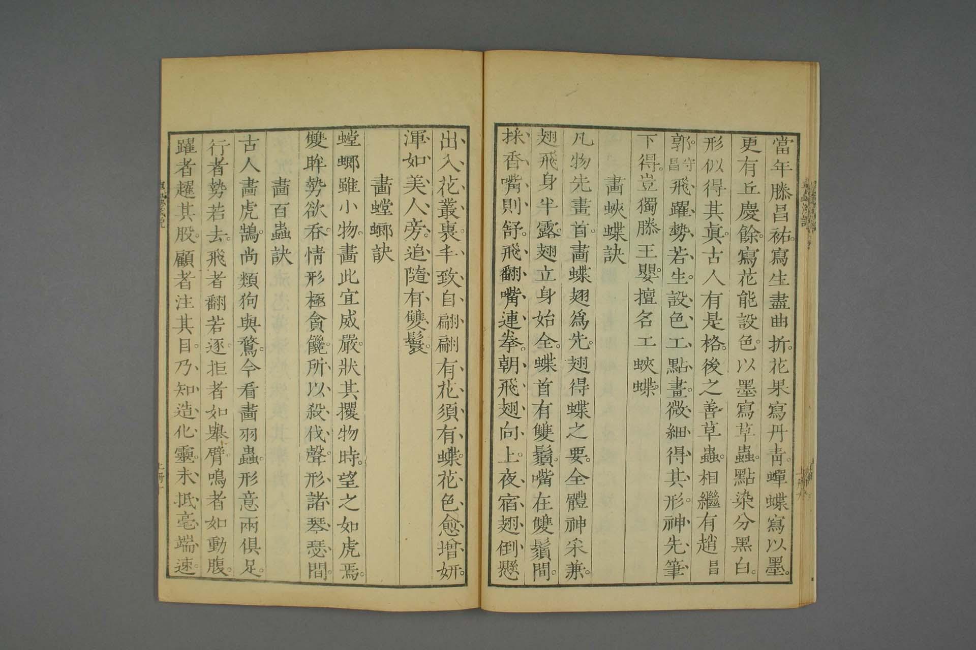 芥子园画谱 康熙刻本全集-刻本-20