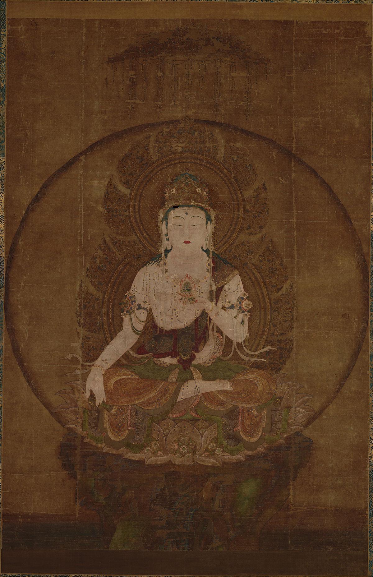 日本 虚空藏菩萨像