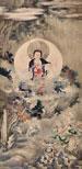 佚名 佛像 立轴 绢本作品欣赏
