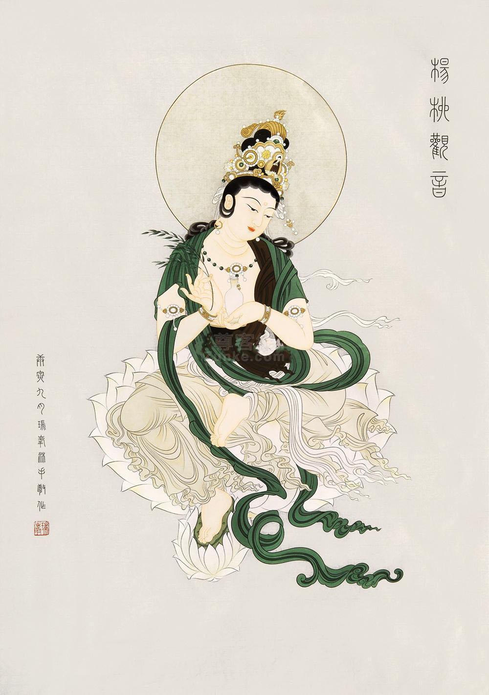 观音像真人版_观音菩萨佛教图片_中国佛教图片网_佛菩萨圣