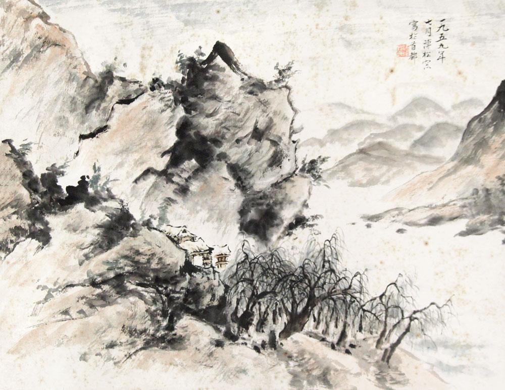 ...镜框 - 中国书画专场 - 中都国际(北京)2011年春季艺术精品拍...