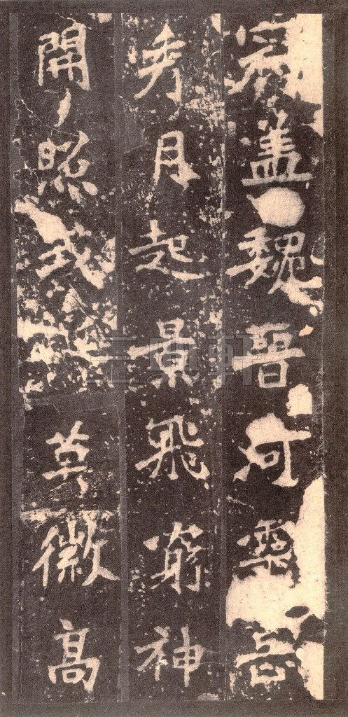北魏 张猛龙碑之一(二玄社原色法帖)0041作品欣赏