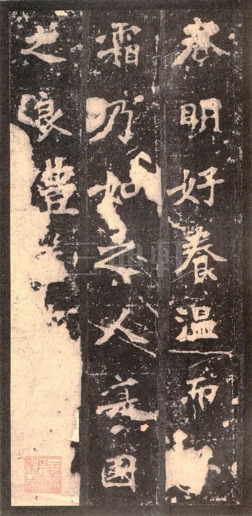 北魏 张猛龙碑之一(二玄社原色法帖)0045作品欣赏