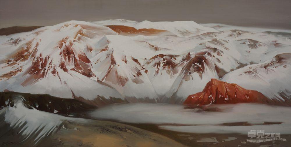 雪山之二十六作品欣赏
