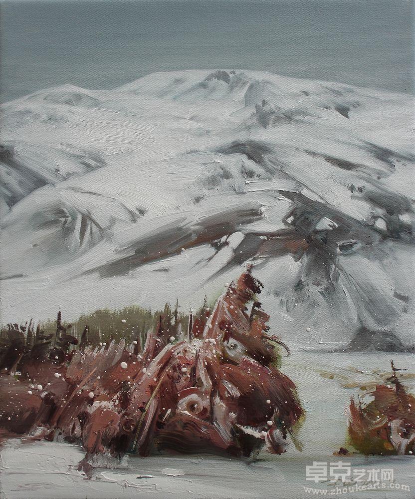 雪山之十九---旷雪作品欣赏