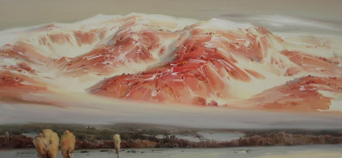 雪山之二十三作品欣赏