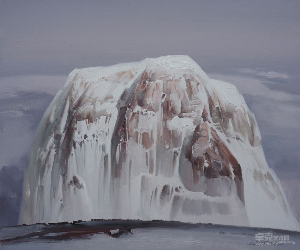 雪山之三十一作品欣赏