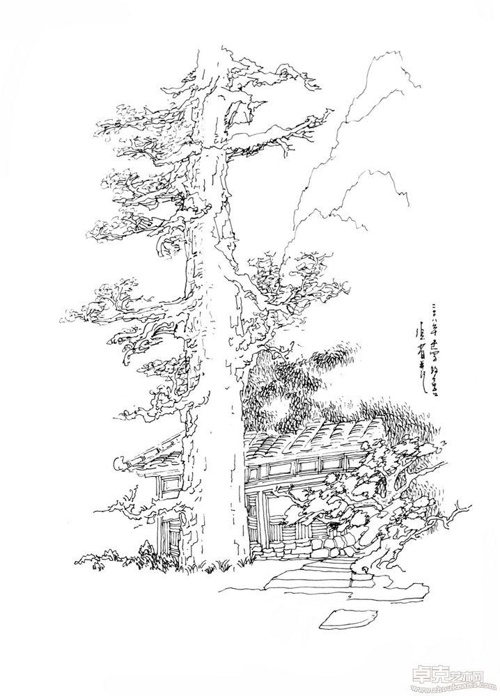 张省风景速写 (118)张省艺术作品大全