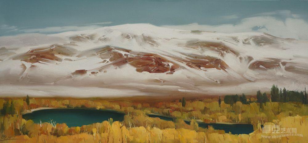 雪山之二十四作品欣赏