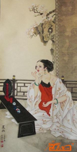 张桂花作品《张桂花-作品3》当代当代书法绘画作品