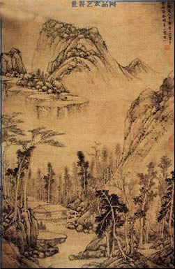 富春山居图卷之一作品欣赏
