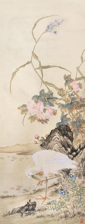 佚名 花鸟 镜心 纸本 佚名 花鸟 镜心 纸本作品欣赏
