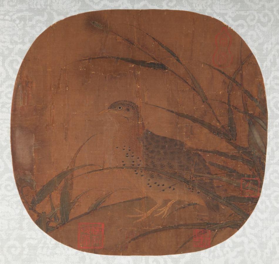 南宋 佚名《岁安图》图片一作品欣赏