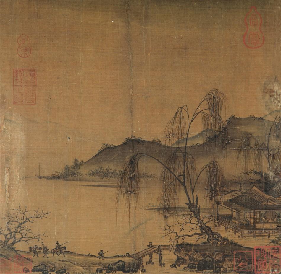 南宋 佚名《寻梅访友图》RMB 10,120,000图片一作品欣赏