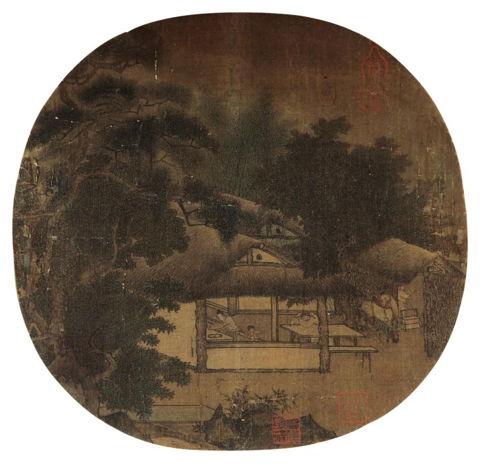 南宋 佚名《征人晓发图》RMB 5,750,000图片一作品欣赏