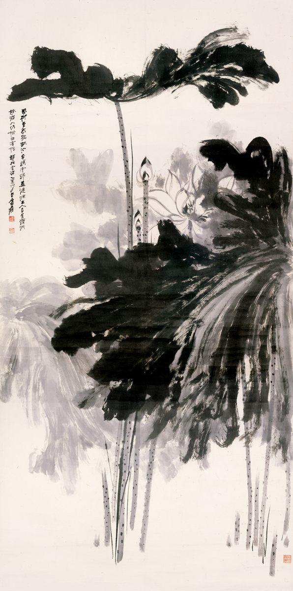 0019_中国画素材jpg格式_中式国画-荷花图018_