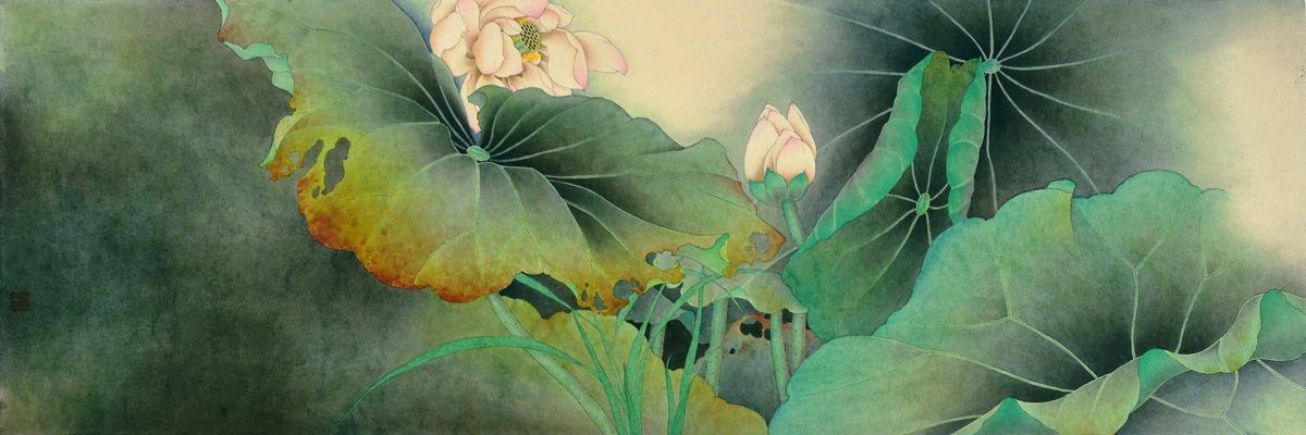 0224_中国画素材jpg格式_中式国画-荷花图223_