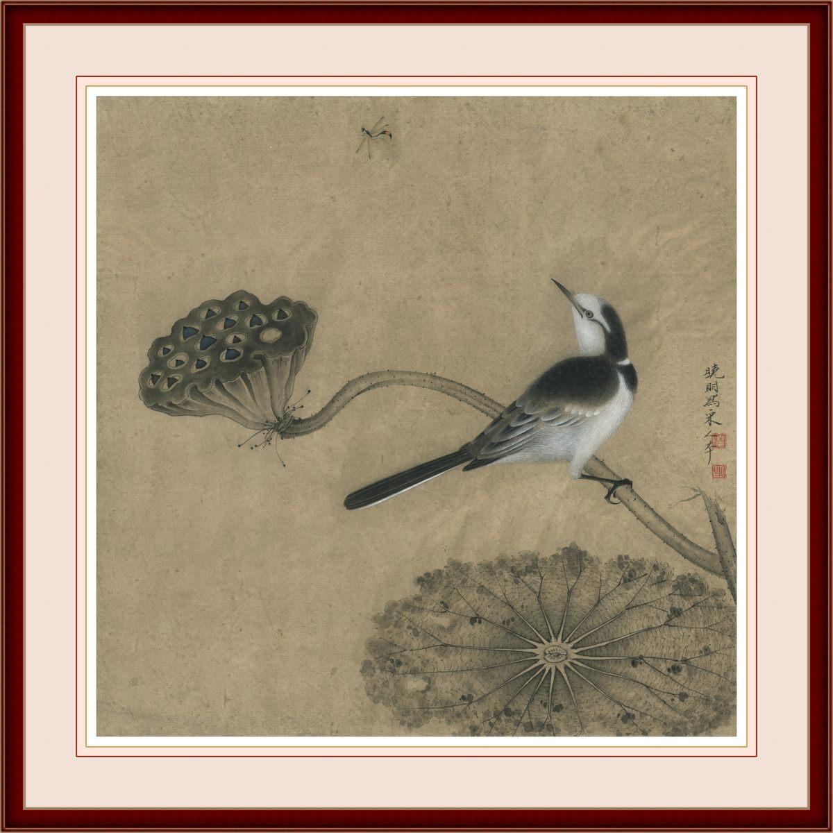 0226_中国画素材jpg格式_中式国画-荷花图225_