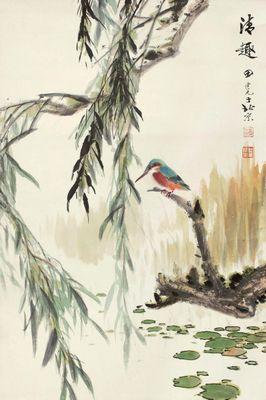 0041_田世光工笔花鸟画图集TIF格式_