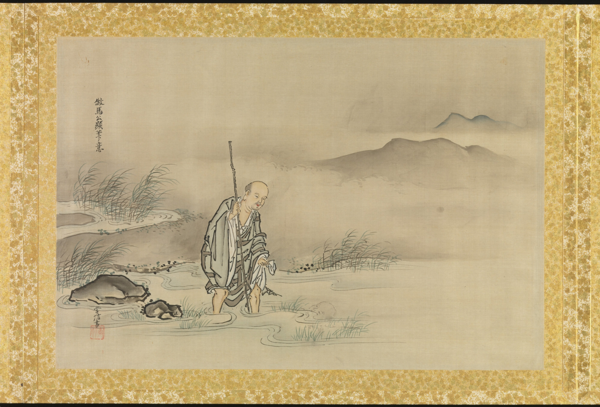 0008_日本画-常信画作-日本常信仿马公显笔意46x67_8000x5434PX_TIF_300DPI_127_0