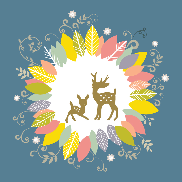 [装饰画高清大图]0021_北欧风格_ai北欧风格麋鹿矢量图01辑-23_xpx_ai